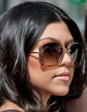 Kourtney Kardashian - Bottega Veneta - BV 71/S