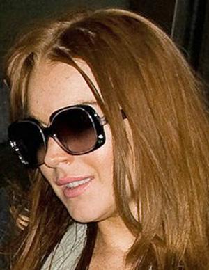 Lindsay Lohan - Fendi - FS 5014