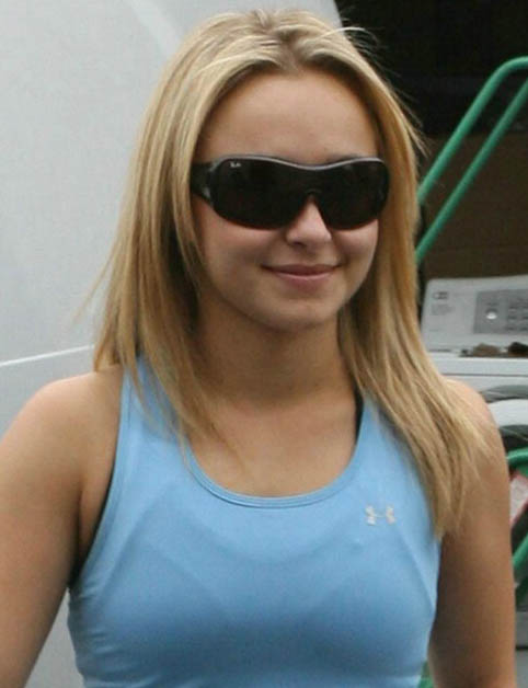 Hayden Panettiere - Ray-Ban - 4087