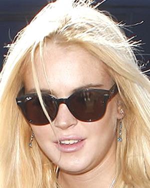Lindsay Lohan - Ray-Ban - RB 4141