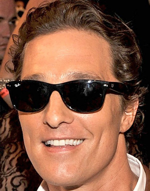 Matthew McConaughey - Ray-Ban - RB 2132