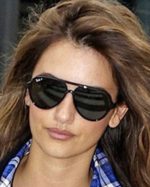 Penelope Cruz - Ray-Ban - 4125 - Aviator