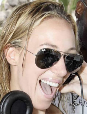 Haylie Duff - Ray-Ban - RB 3025