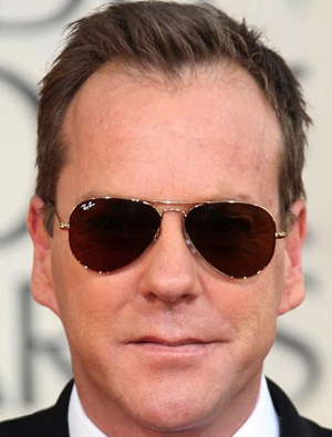 Kiefer Sutherland – Ray-Ban – 3025