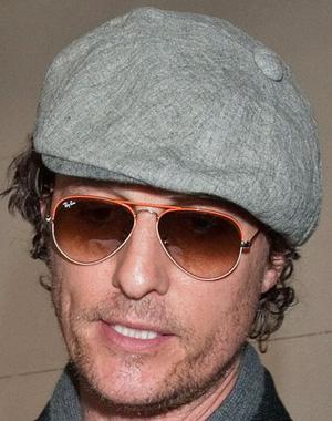 Matthew McConaughey – Ray-Ban – RB 3025
